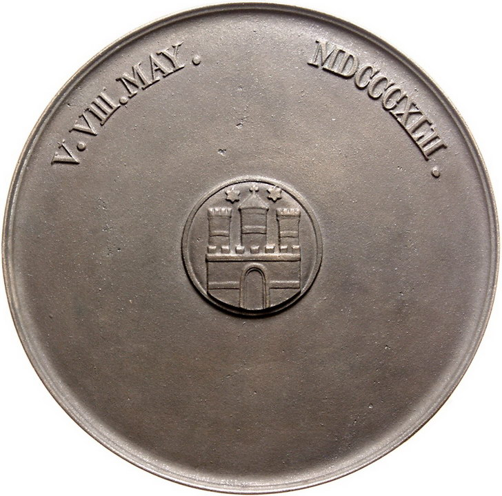 Wag Archiv Altdeutsche Münzen Und Medaillen Hamburg Stadt