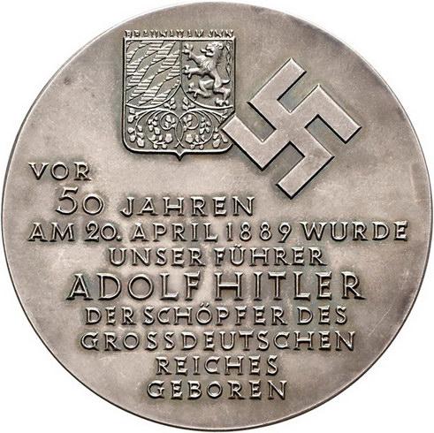 Wag Archiv Medaillen Drittes Reich Medaille 1939