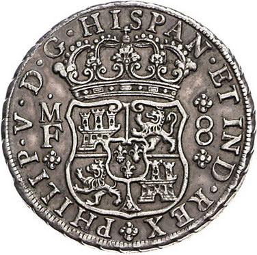 Wag Archiv Ausländische Münzen Und Medaillen Mexiko Felipe V